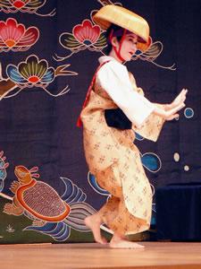 琉球舞踊・志田真木