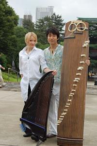 中井智弥さんとエヴァ・アルクラさん