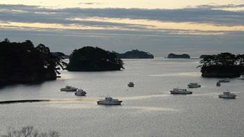 宮城県の松島の風景